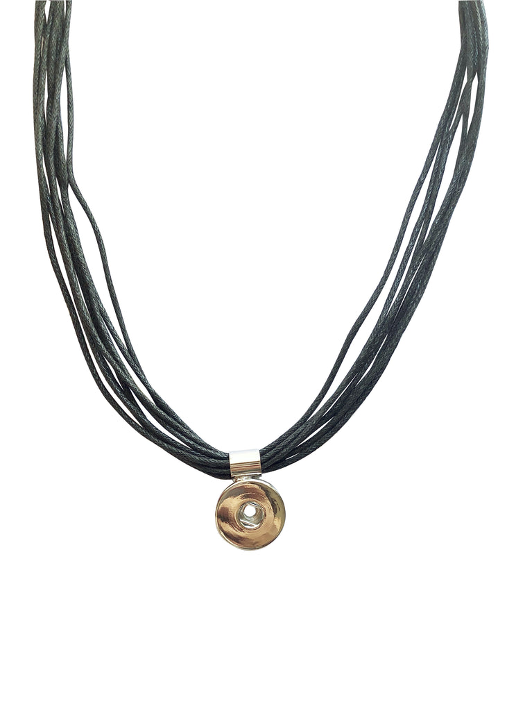 Classic - Multi-strap Cord Necklace