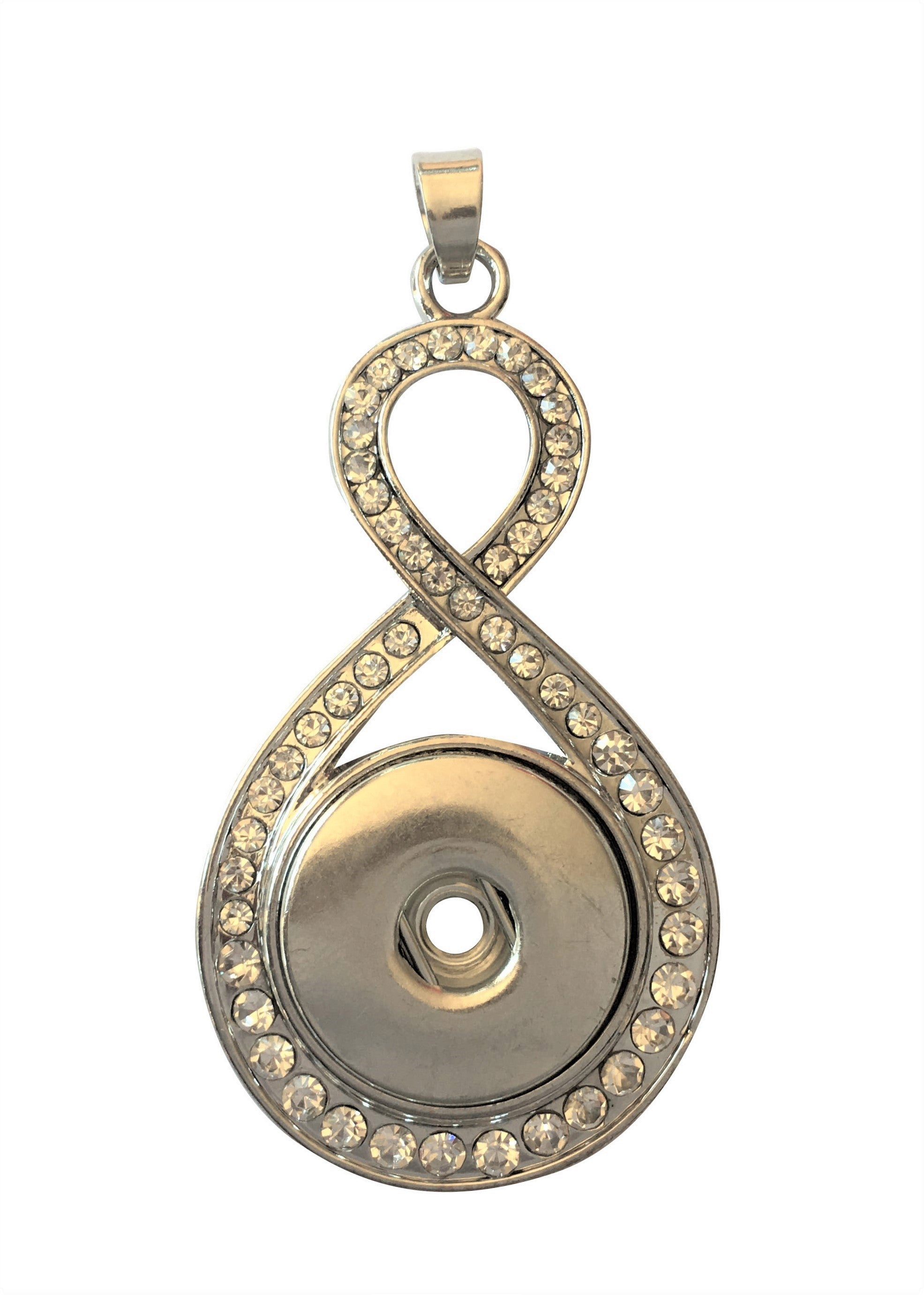 necklace gold luulla original in pendant infinity on product