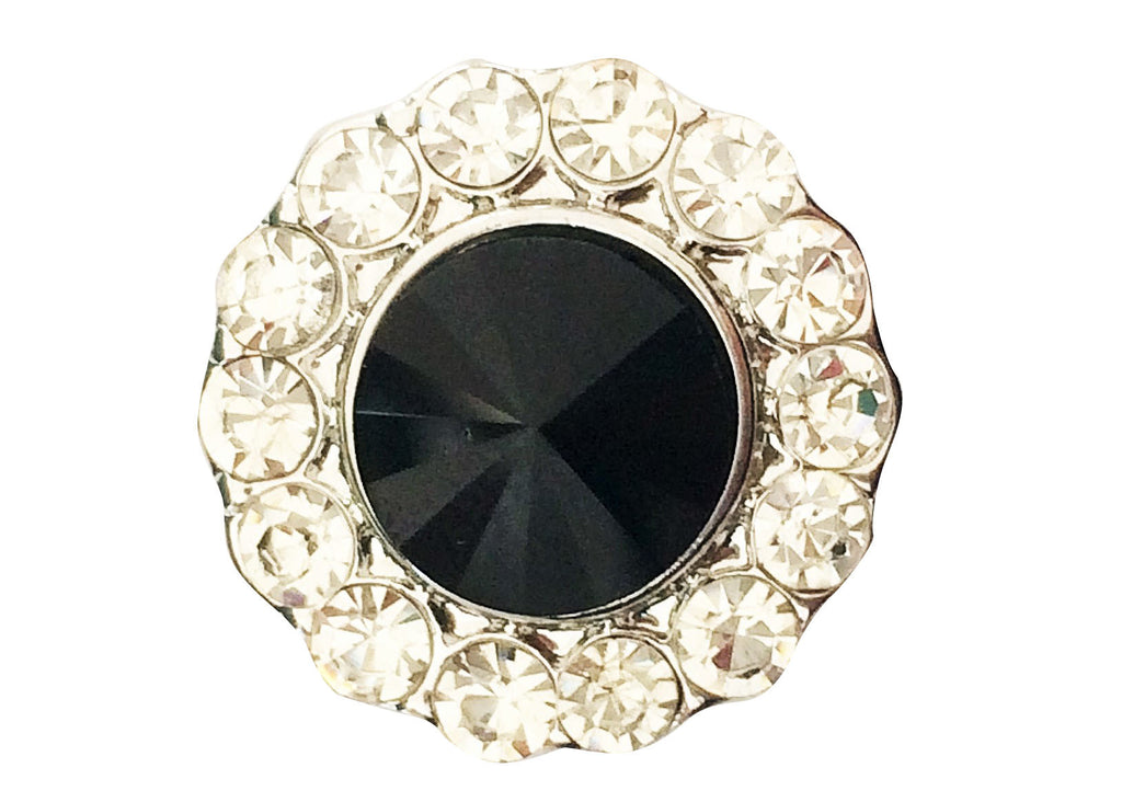 Classic - Bling with black stone