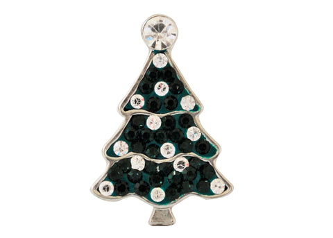 Classic - Green and white Christmas tree