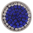 Classic - Blue with crystal ring sparkle