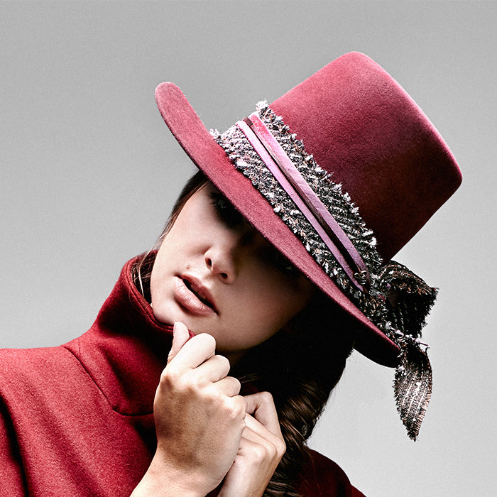 Paramo Tall Crown Hat - Burgundy