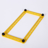 Multi Angle Measuring Ruler ABS Template Tool