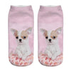 I Love Chihuahuas 3D Printed Socks - Women's