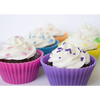 Nonstick Reusable Silicone Cupcake Liners / Baking Cups - 12 Pieces