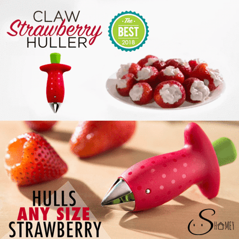 Clever Claw Strawberry Huller