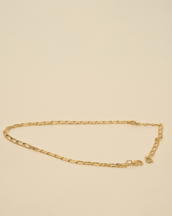 #The New Gentle# Golden Hour Medium Link Chain Necklace