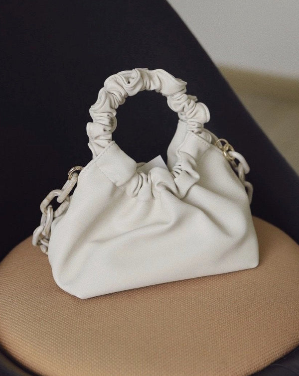 Limited Edition Cream mini leather Bag