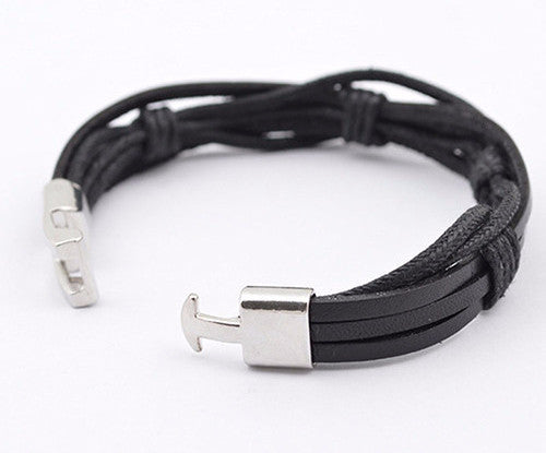 Hand Braided Multilayer Leather Bracelet - Brummen Store
