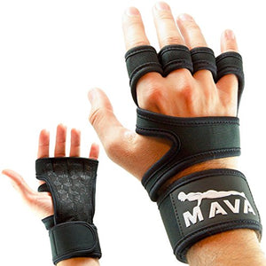 Mava Sports Cross Training Gloves with Wrist Support for WODs,Gym. Workout gloves. Fitness & Lifting Gloves for men. Avoid Calluses-Suits Men & Women-The Best Weight Lifting Gloves, Pair