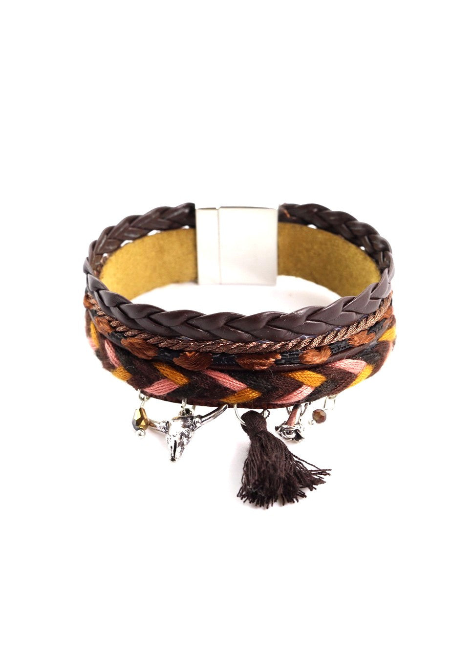 KATYA - Woven Leather Bracelet