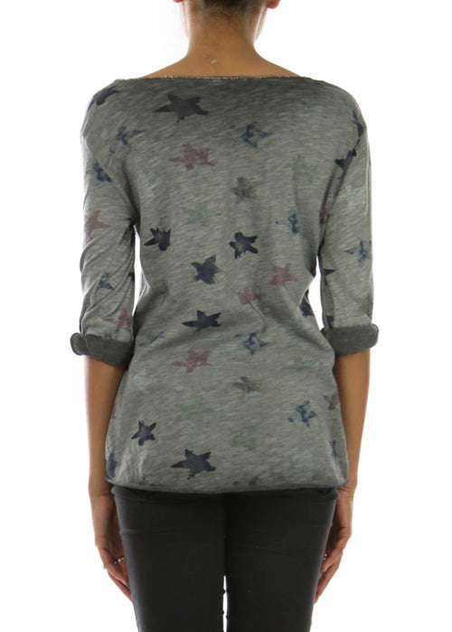 LIDA - Star Splash Top - Grey
