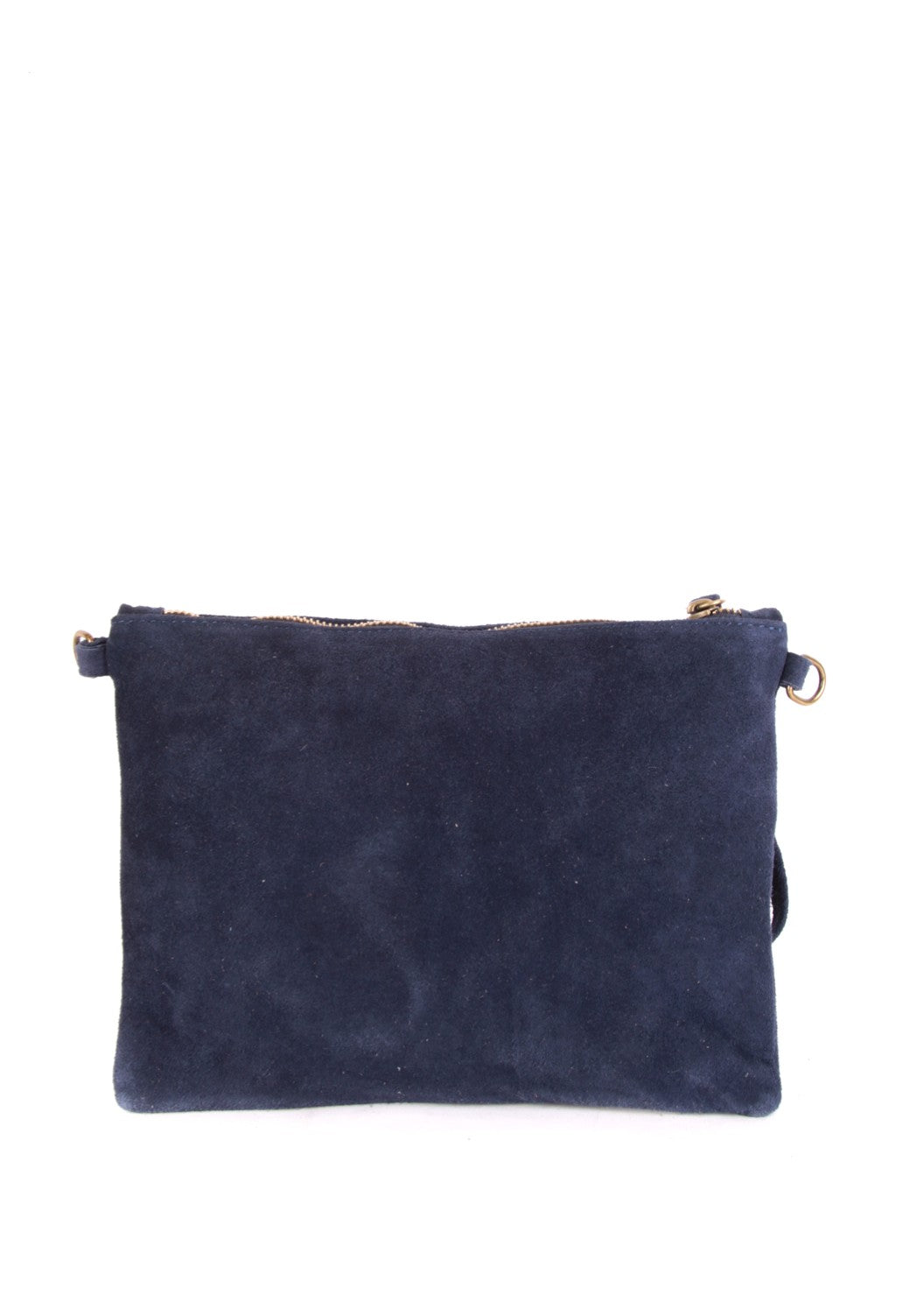 STELLA - Suede Leather Star Bag - Blue