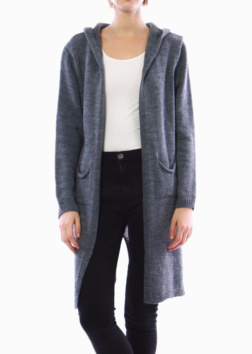 STELLA - Long Cardigan with Star - SOLD OUT