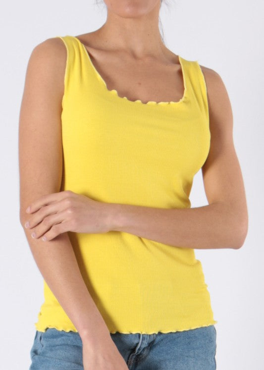 IVET - Ribbed Vest - Various Colours