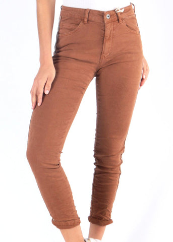 BETH - Vegan Leather Pants