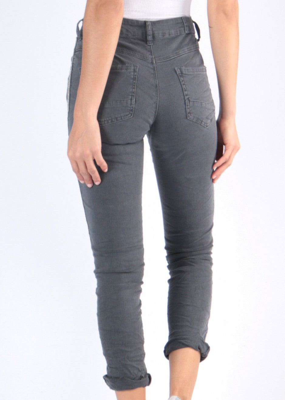 ISABEL Jeans - Anthracite