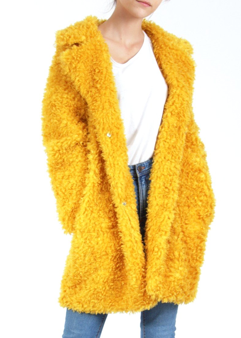 ALINA - Fluffy Borg Coat - SOLD OUT