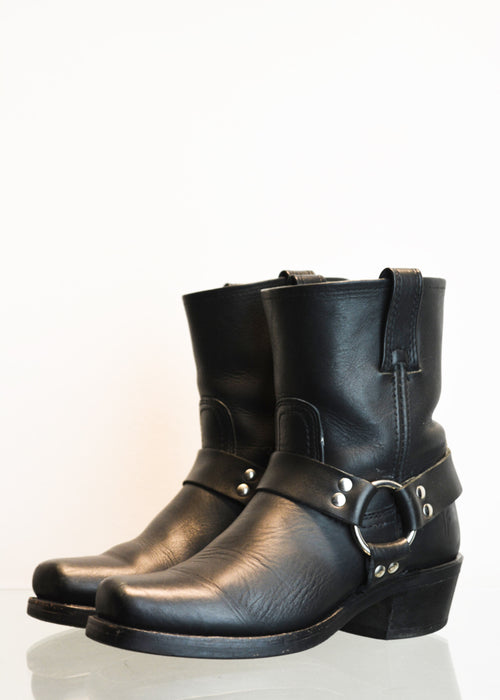 PREWORN | Preloved - 'FRYE' Harness 8R Boot - Size 4 UK