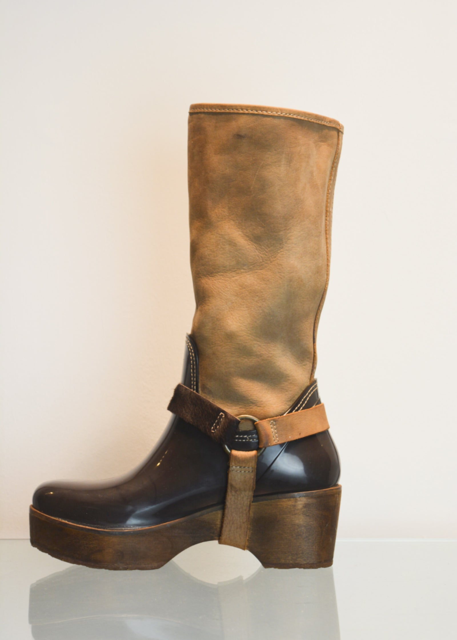 PREWORN - 'CUBANAS' Tribal Wellies - Size 5 UK (38)
