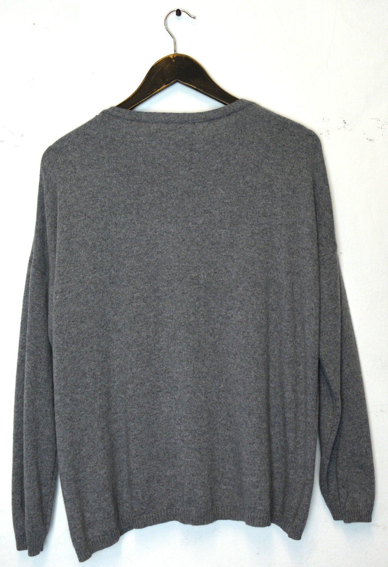 STELLA - Star Jumper - Grey / Fuscia