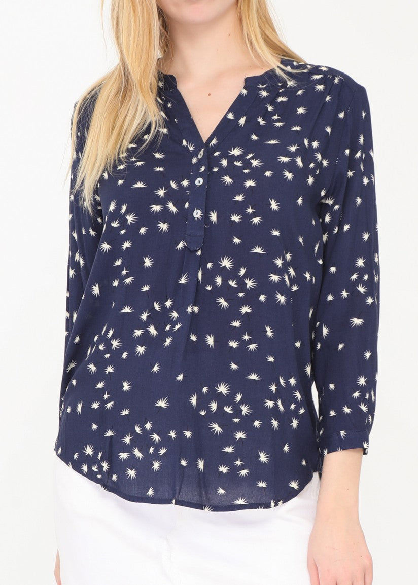 MILA - Patterned Floral Blouse