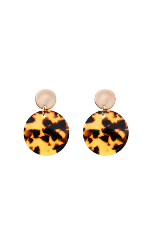 ANOUK - Tortoiseshell Hoop Earrings