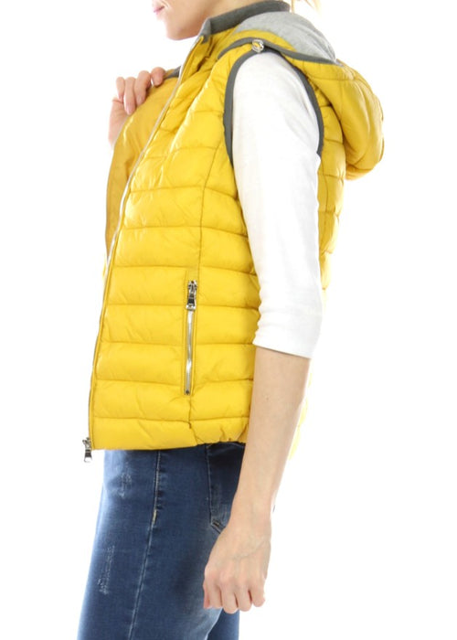 MILLIE - Padded Gilet - Yellow