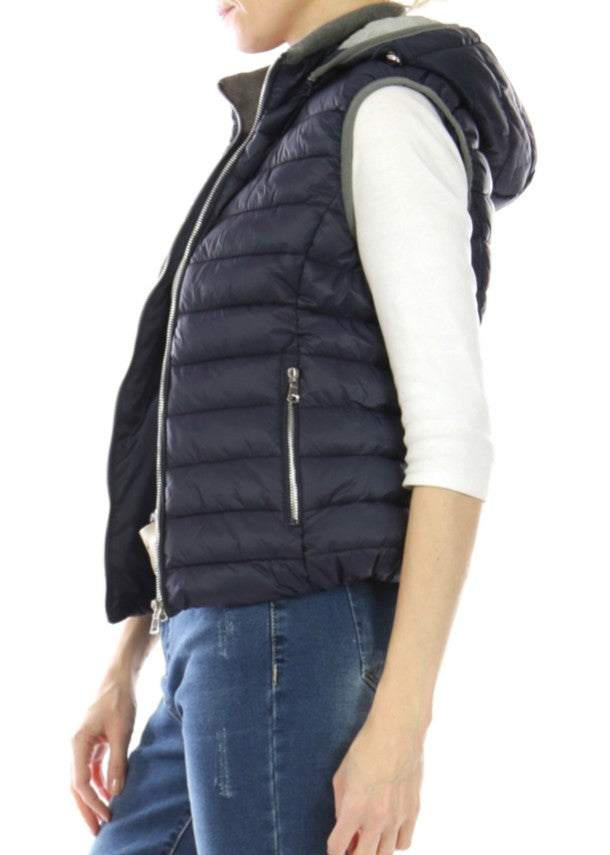 MILLIE - Padded Gilet - Navy