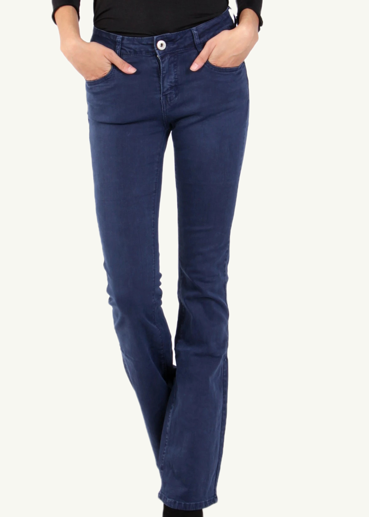 REGINE - Flared Jeans - Indigo