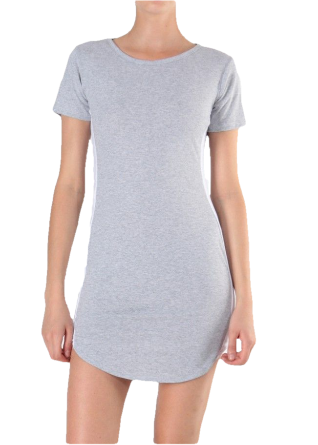 KARLA - Athletic Leisure Tunic - Grey
