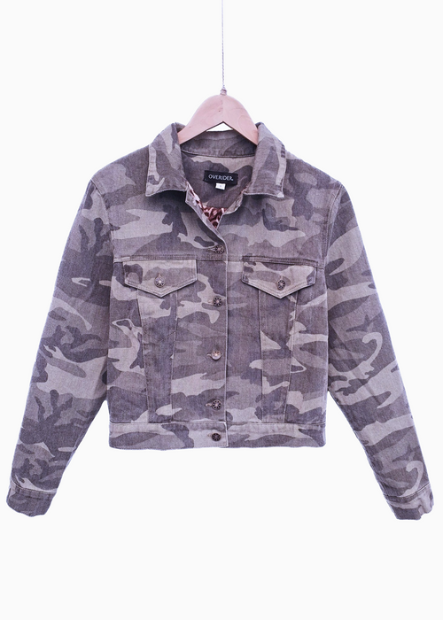 LORI | Camouflage Jacket | Khaki - LOW STOCK!