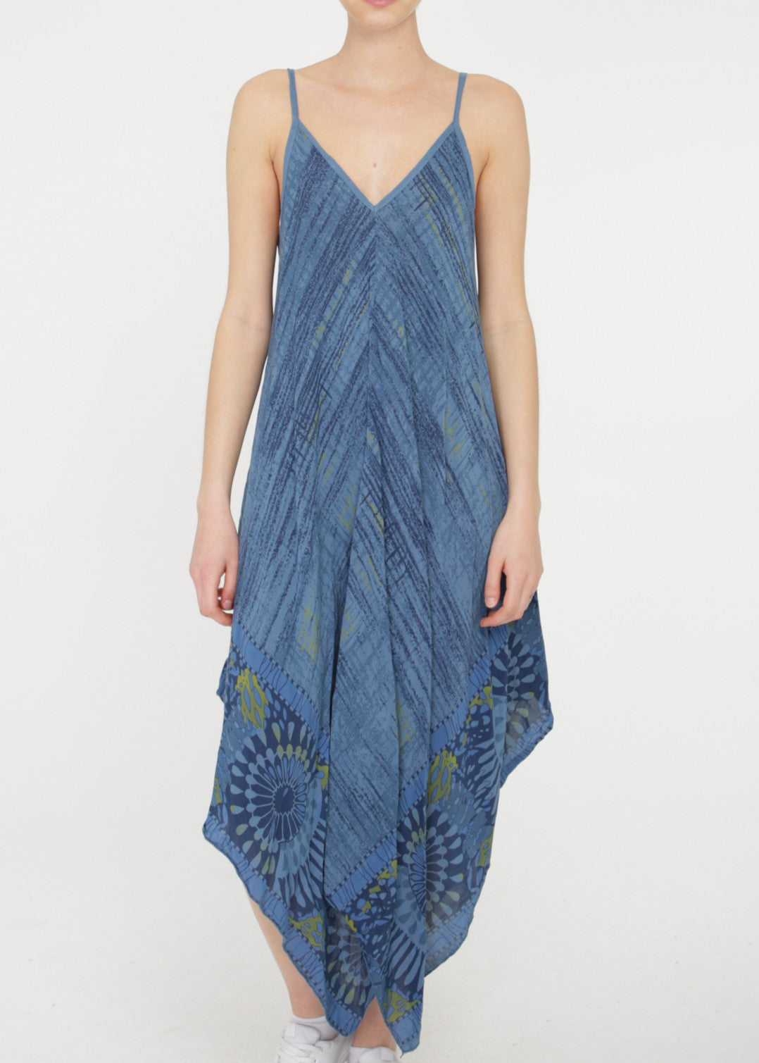 ALISEE - Summer Dress - Blue