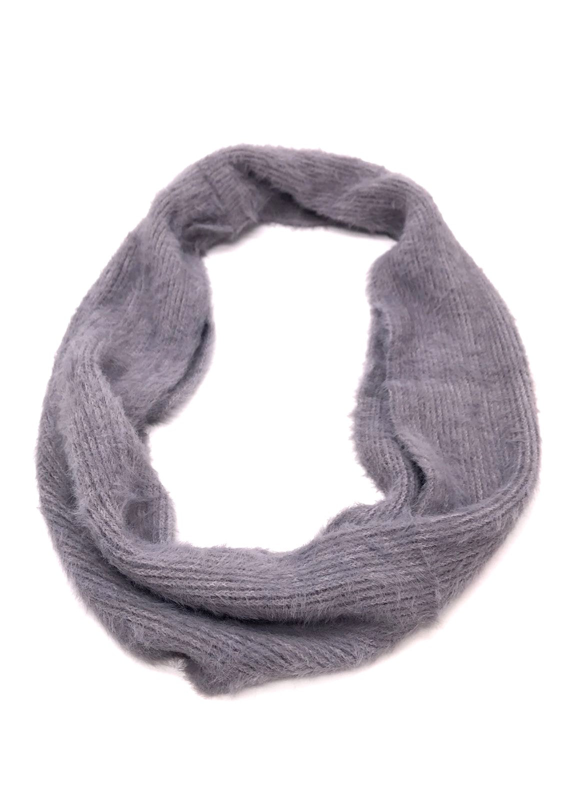 KENZA - Wrap Snood - Grey