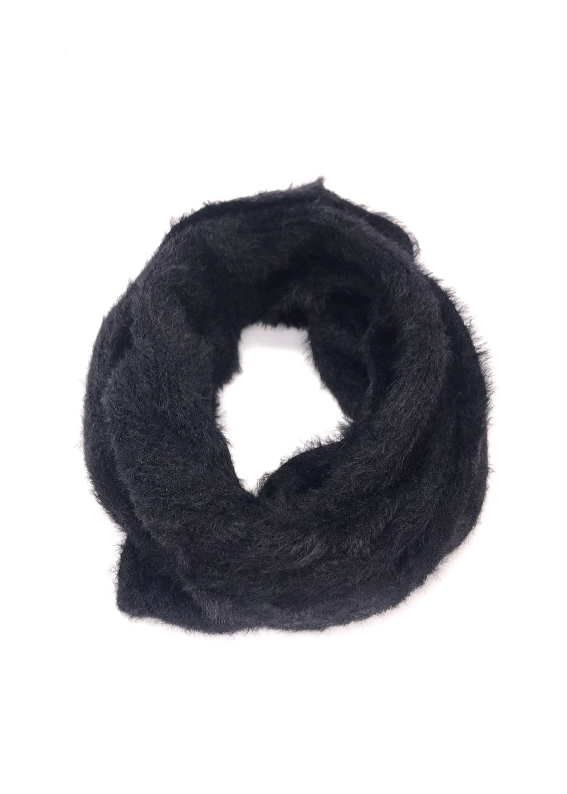 KENZA - Wrap Snood - Black