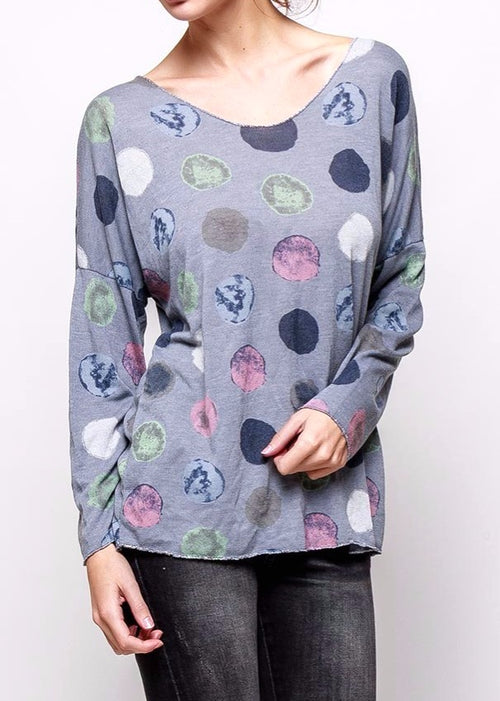 RUTH - Circle Pattern Top - SOLD OUT