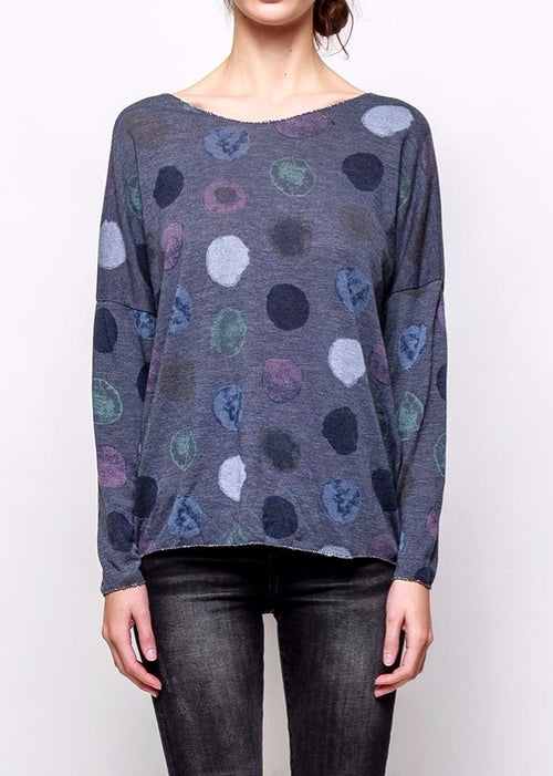 RUTH - Fine Knit Slub Top - SOLD OUT