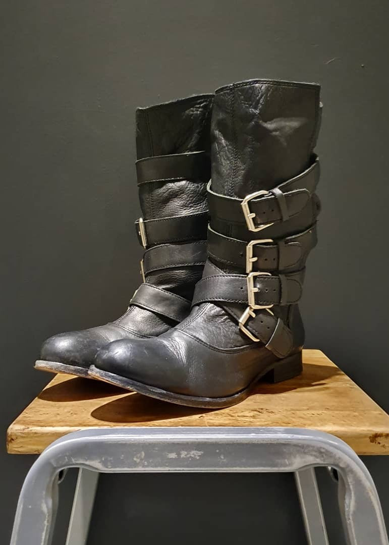 PREWORN | Preloved - 'HUDSON' Strap  Boot - Size 5 UK