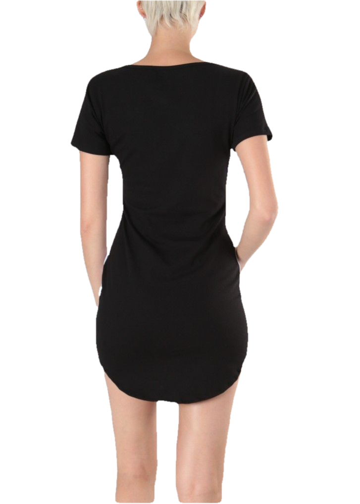 KARLA - Athletic Leisure Tunic - Black