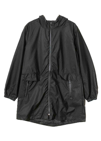 RAPHAELLE - Cotton Jacket -Black
