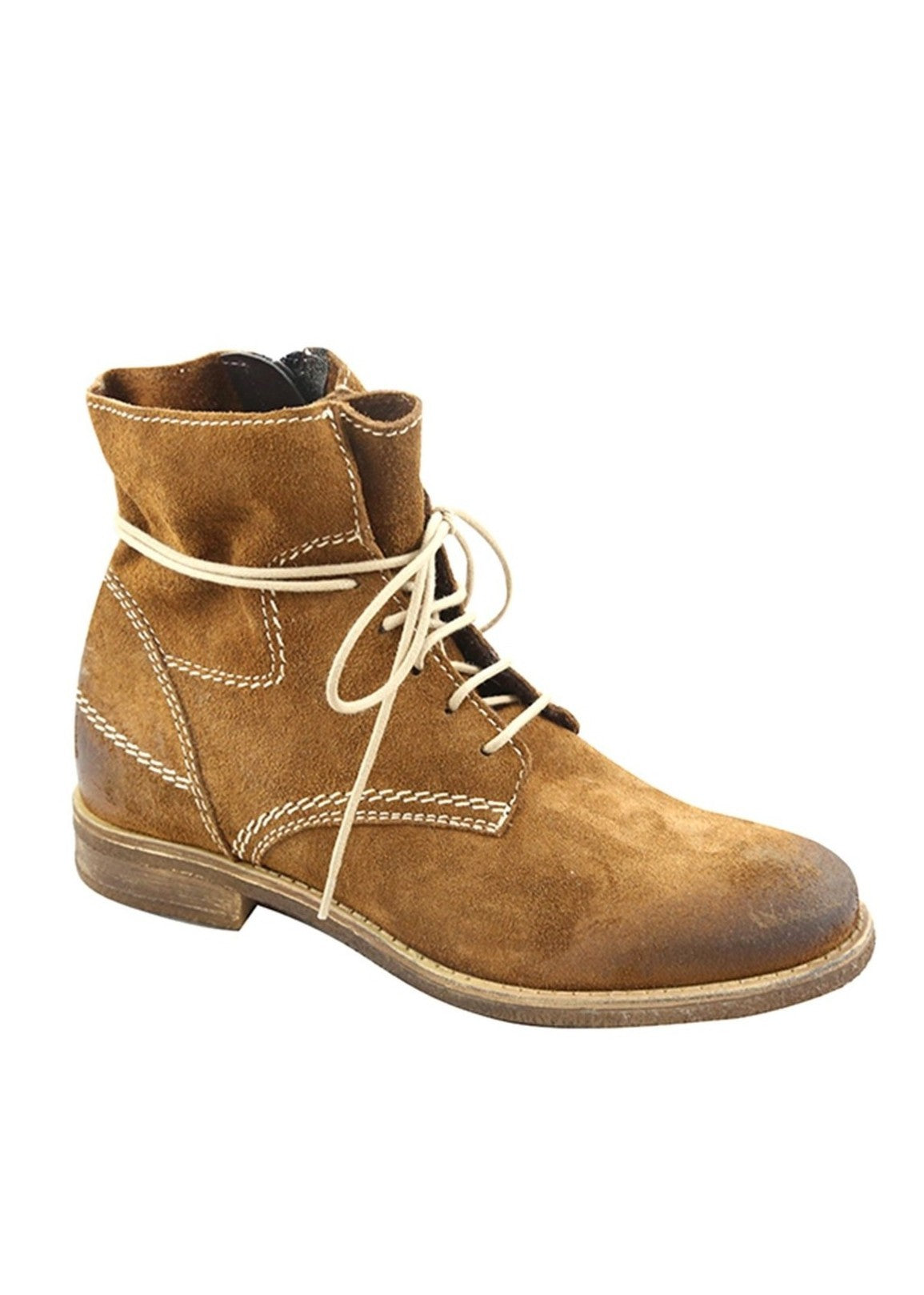 ADI - Suede Leather Lace-up Boots