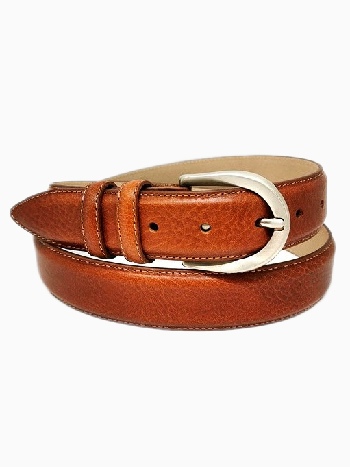SOPHIA | Italian Leather Belt | Cognac
