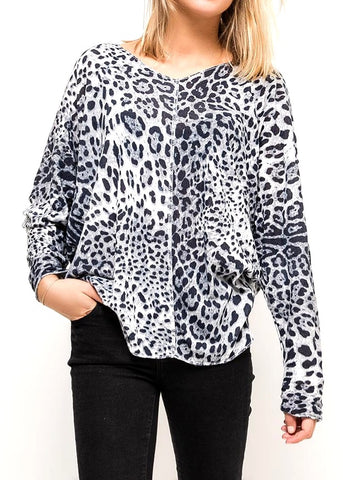 CARLA  - Capped Sleeve Blouse
