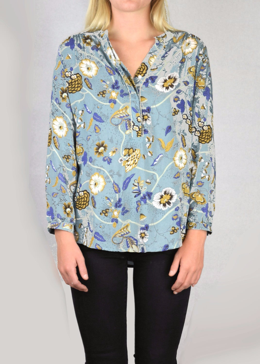 PHILA- Winter Floral Shirt - SOLD OUT
