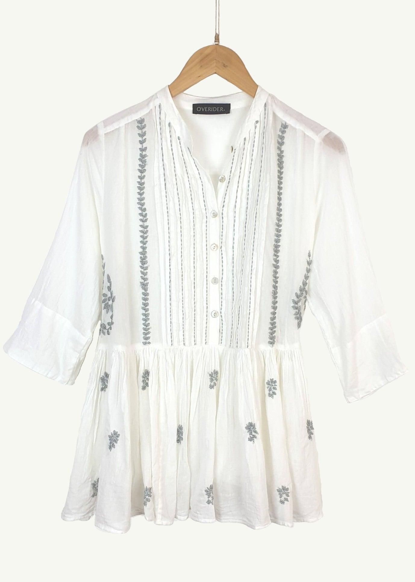 BLAISE - Boho Summer Smock  Top
