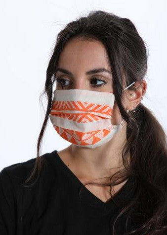 Face Mask - Tribal - Green