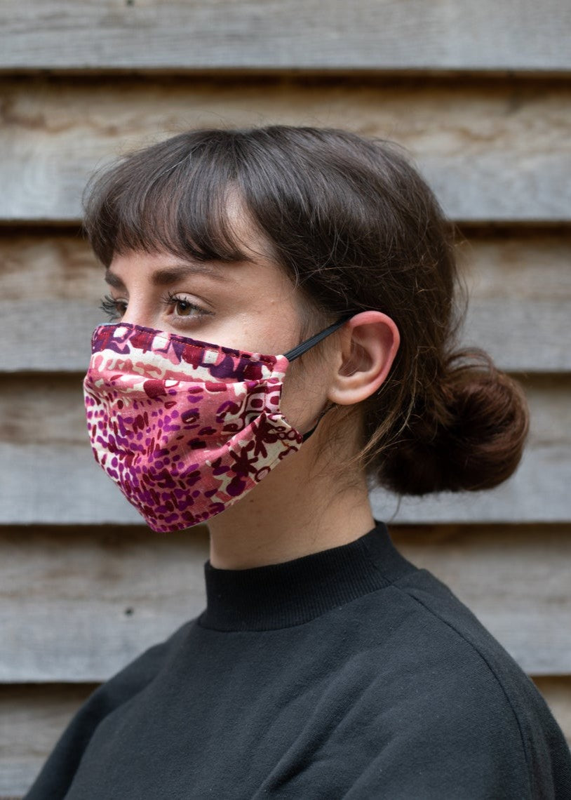 FACE MASK - Pink/Purple