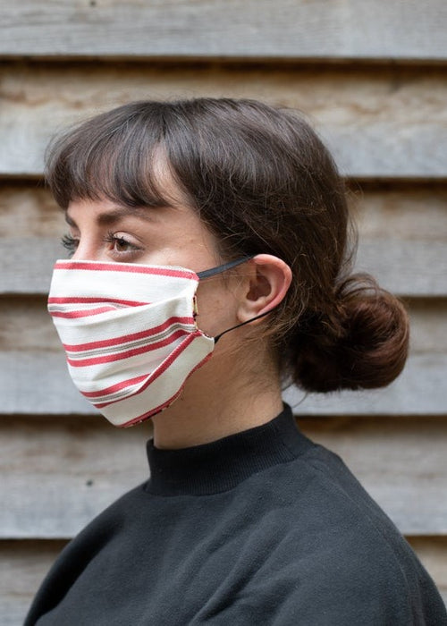 FACE MASK - Red Stripe