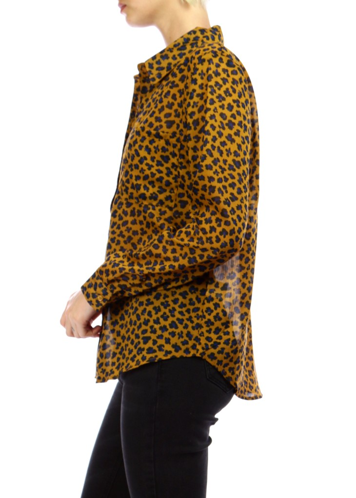 LIENA - Animal Print Shirt - SOLD OUT