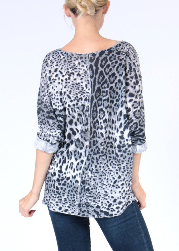 MARA - Animal Print Top- SOLD OUT